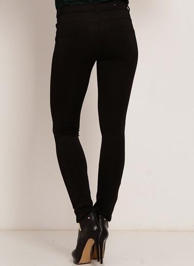 Vero Moda Vero Moda 10141471 Normal PaÇa Melanj Kadın Pantolon Siyah